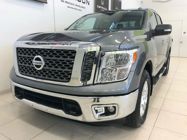 2018 Nissan Titan SV Crew Cab 4WD
