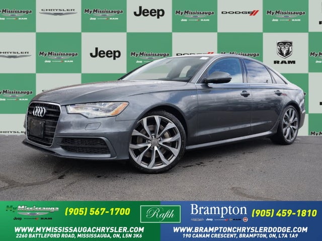 2012 Audi A6 3.0T quattro Premium Plus Sedan AWD