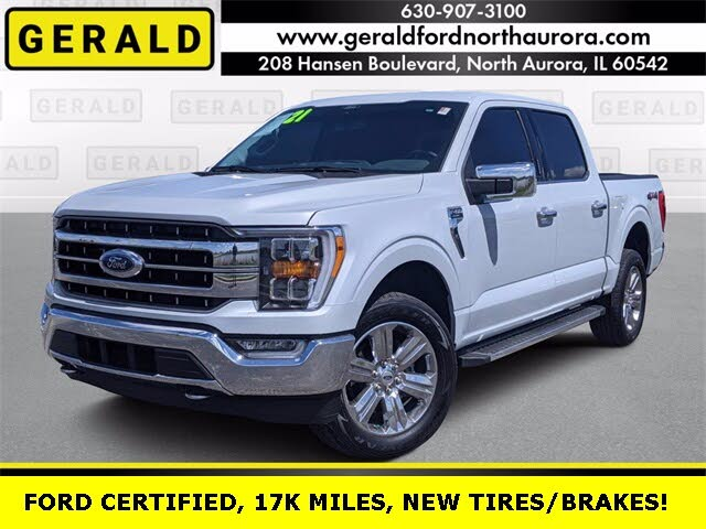 2021 Ford F-150 Lariat SuperCrew 4WD