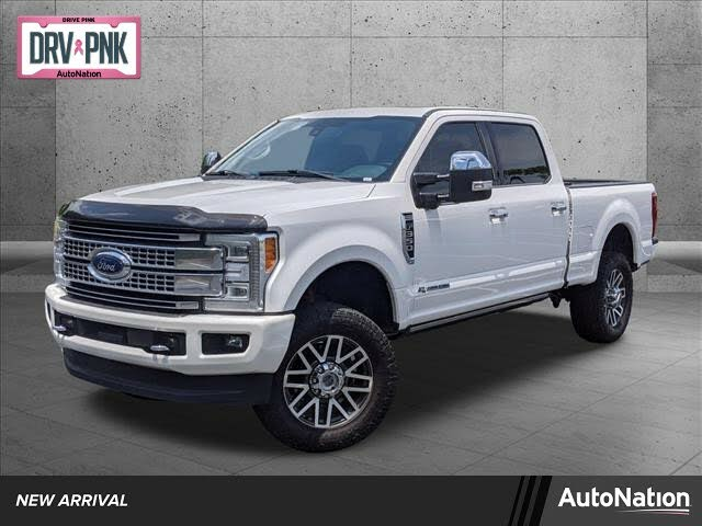 2017 Ford F-350 Super Duty Platinum Crew Cab LB 4WD
