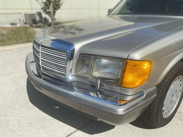 1991 Mercedes-Benz 350-Class 4 Dr 350SDL Turbodiesel Sedan