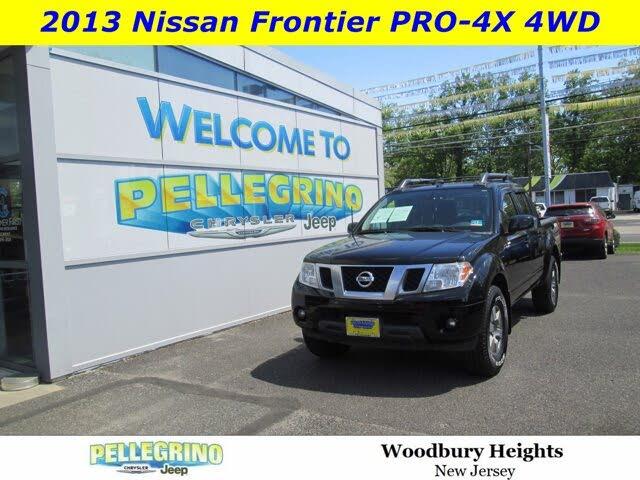 2013 Nissan Frontier PRO-4X Crew Cab 4WD