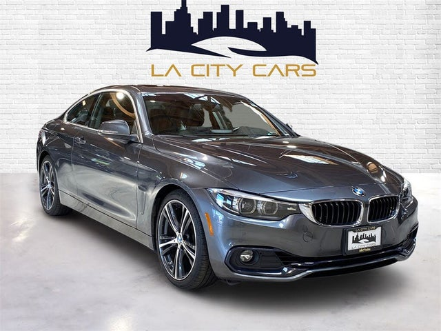 2018 BMW 4 Series 430i Coupe RWD