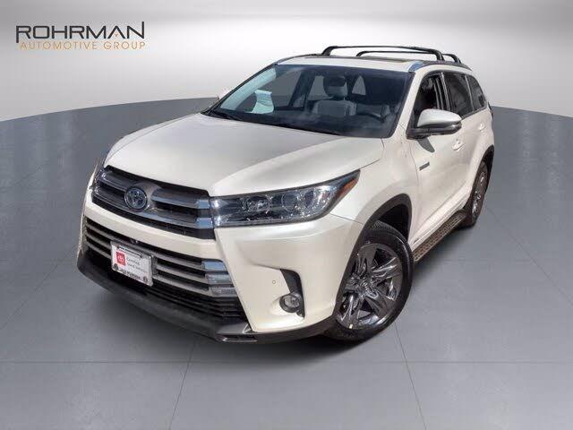 2019 Toyota Highlander Hybrid Platinum AWD