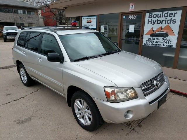 2006 Toyota Highlander Hybrid Limited AWD