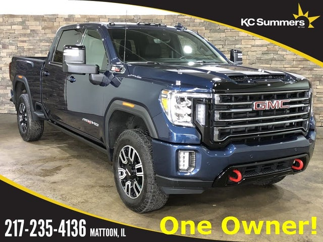 2021 GMC Sierra 2500HD AT4 Crew Cab 4WD