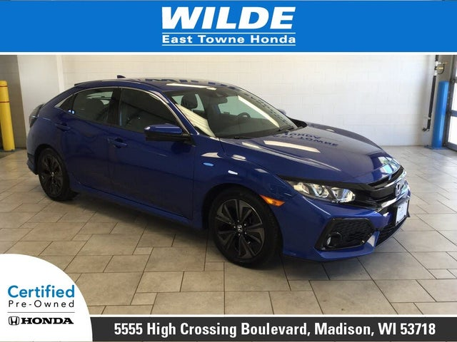 2019 Honda Civic Hatchback EX FWD