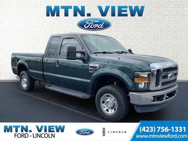 2009 Ford F-250 Super Duty XLT SuperCab 4WD