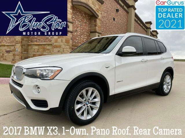 2017 BMW X3 sDrive28i RWD