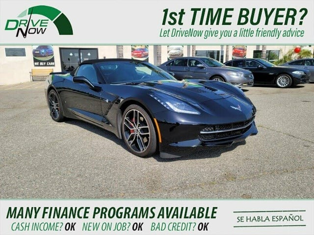 2017 Chevrolet Corvette Stingray 2LT Convertible RWD