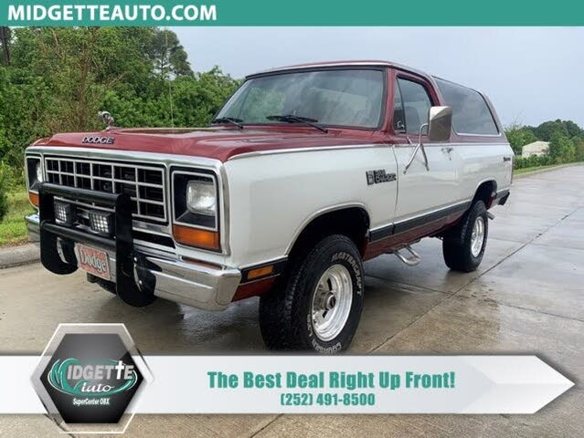 1984 Dodge Ramcharger 150 4WD