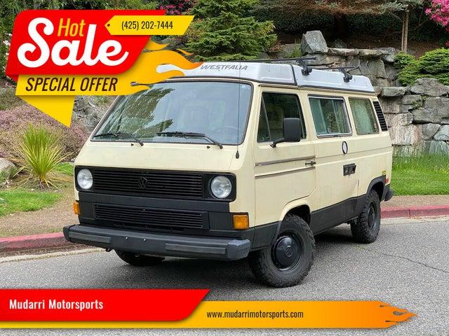 1984 Volkswagen Vanagon Camper Passenger Van