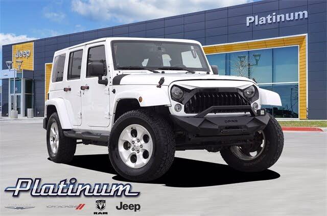 2015 Jeep Wrangler Unlimited Sahara 4WD
