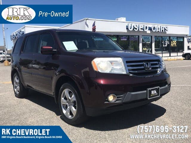 2012 Honda Pilot EX-L with Nav