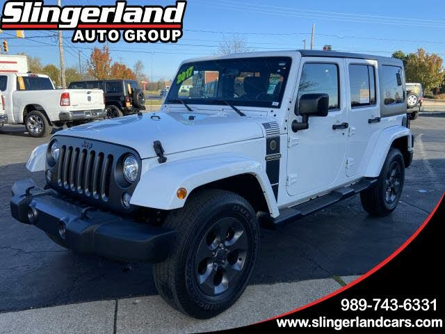 2017 Jeep Wrangler Unlimited Freedom 4WD