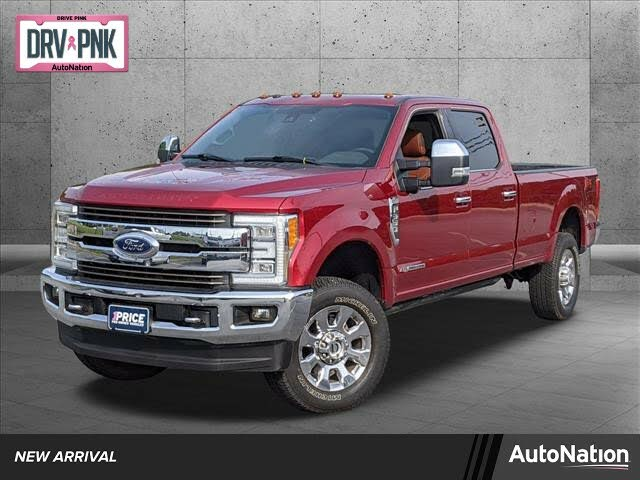2018 Ford F-350 Super Duty King Ranch Crew Cab LB 4WD