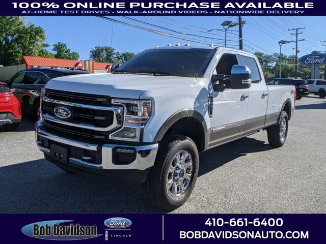 2020 Ford F-350 Super Duty King Ranch Crew Cab LB 4WD