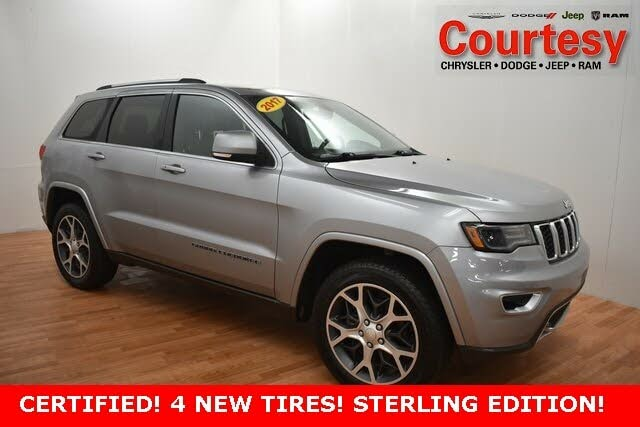2018 Jeep Grand Cherokee Sterling Edition 4WD