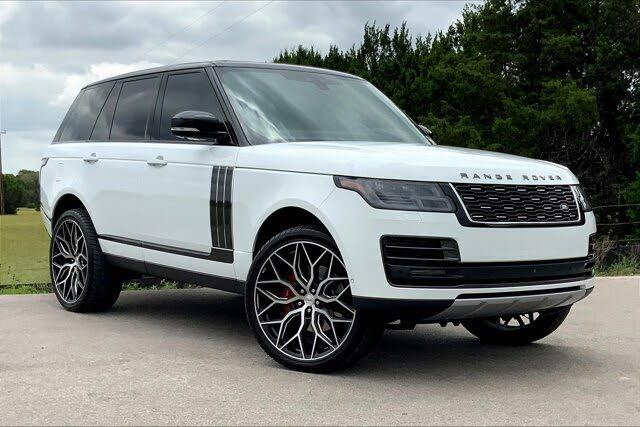 2019 Land Rover Range Rover V8 SVAutobiography Dynamic 4WD