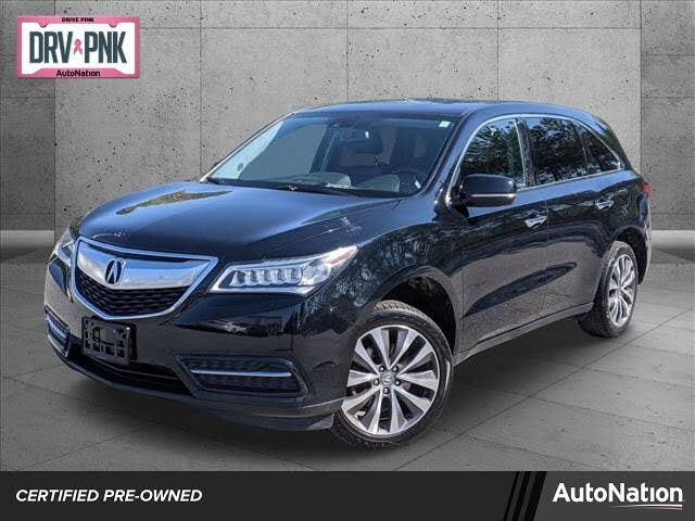 2015 Acura MDX FWD with Technology Package