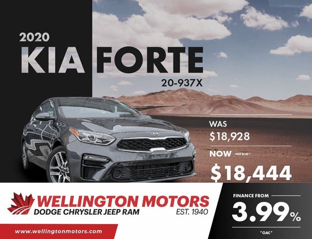 2020 Kia Forte EX FWD