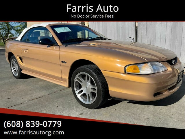 1997 Ford Mustang GT Convertible RWD