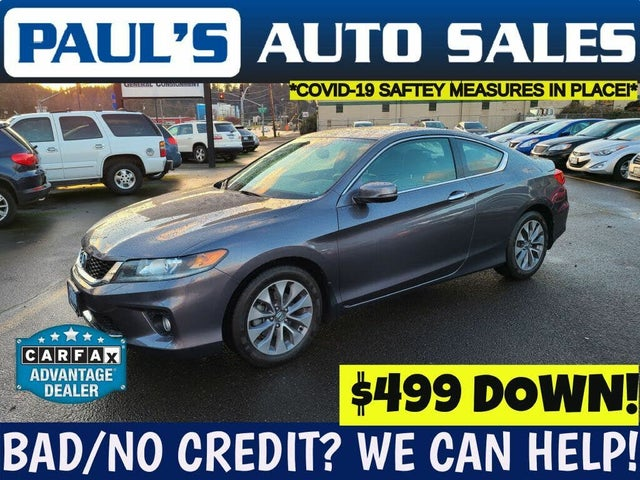 2015 Honda Accord Coupe EX-L with Nav