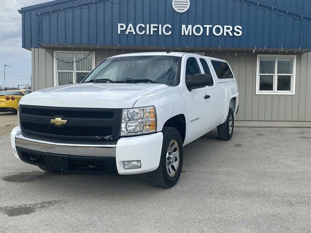 2012 Chevrolet Silverado 1500 Work Truck Extended Cab 4WD
