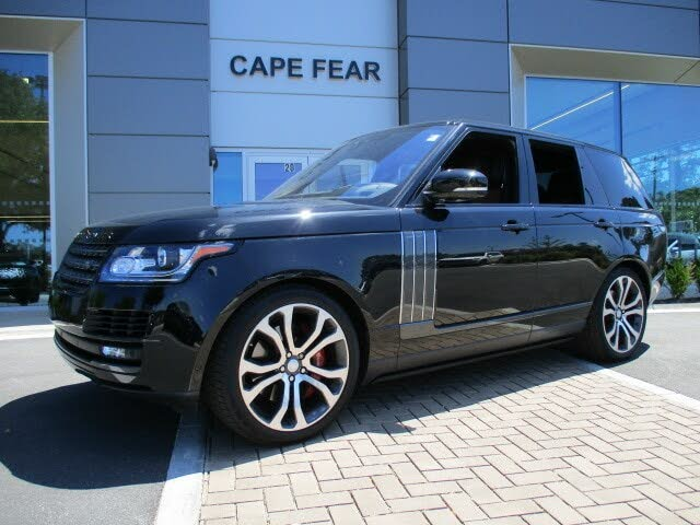 2017 Land Rover Range Rover V8 SVAutobiography Dynamic 4WD