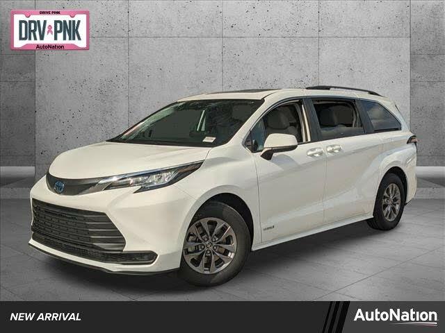 2021 Toyota Sienna LE 8-Passenger AWD