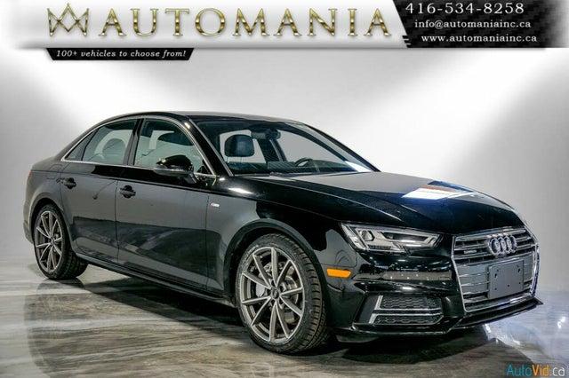 2017 Audi A4 2.0T quattro Technik AWD