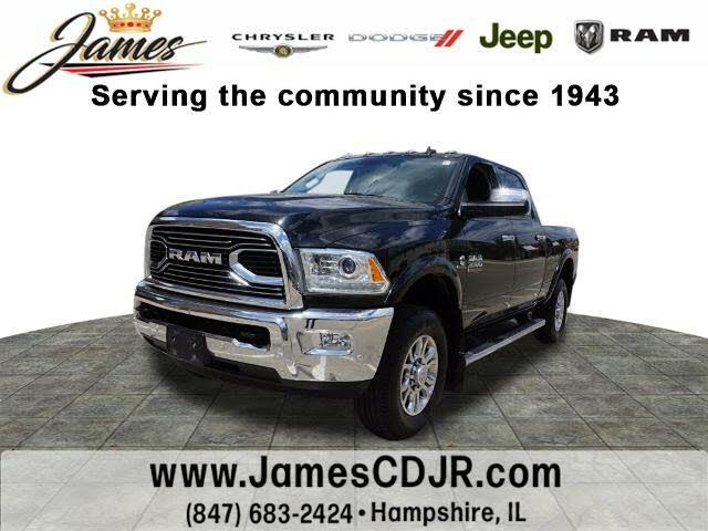 2018 RAM 3500 Laramie Crew Cab 4WD