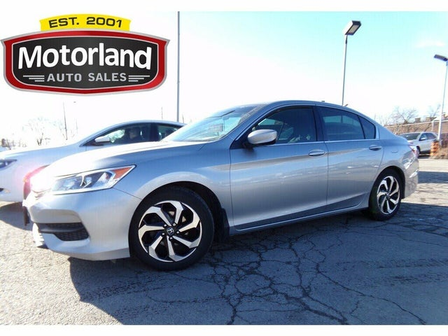 2016 Honda Accord LX with Honda Sensing