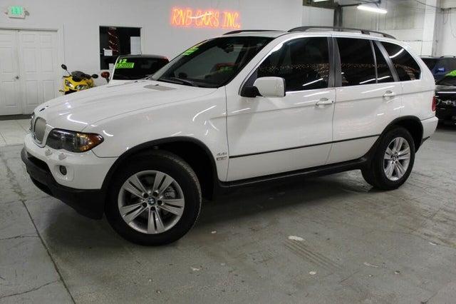 2005 BMW X5 4.4i AWD