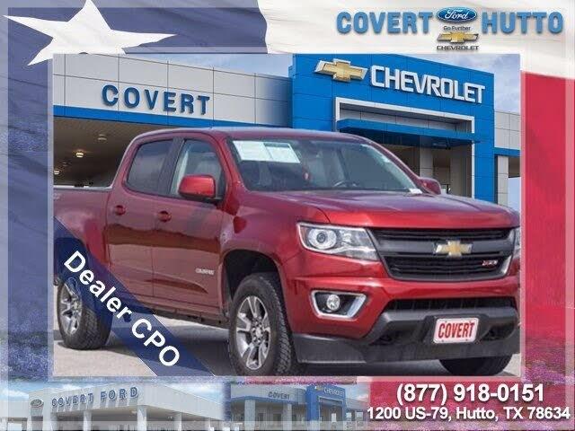 2018 Chevrolet Colorado Z71 Crew Cab RWD