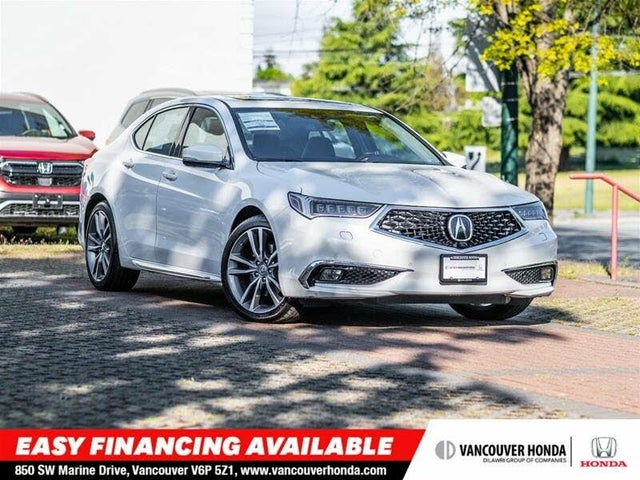 2019 Acura TLX V6 SH-AWD with Elite and A-Spec Package