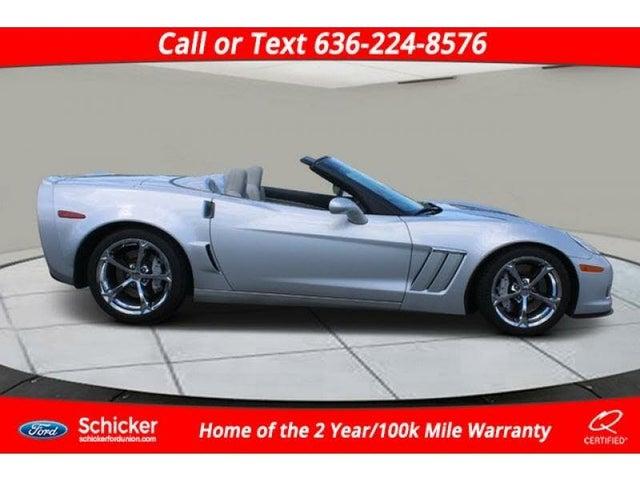 2013 Chevrolet Corvette Z16 Grand Sport 3LT Convertible RWD