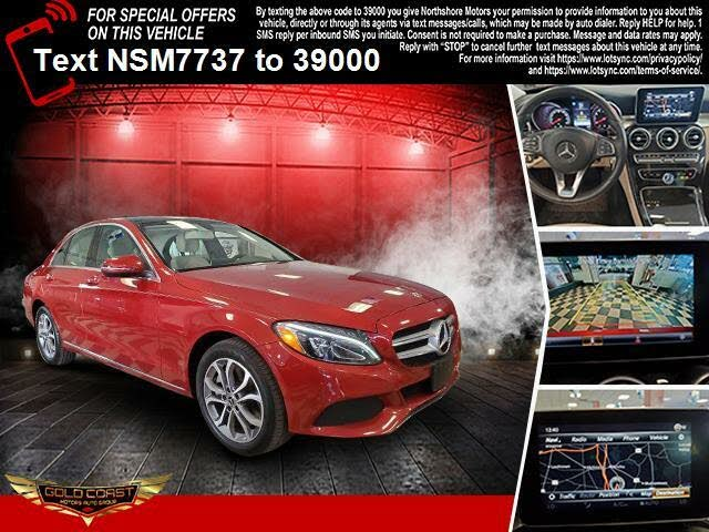 2018 Mercedes-Benz C-Class C 300 Coupe 4MATIC