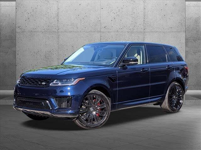 2020 Land Rover Range Rover Sport V8 HSE 4WD