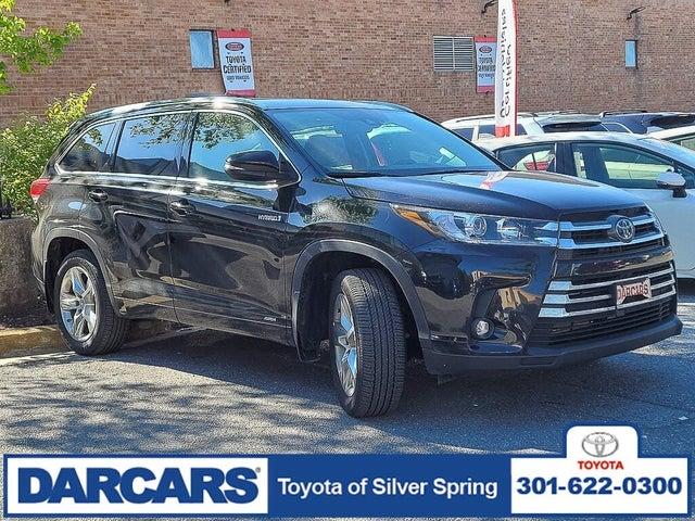 2019 Toyota Highlander Hybrid Limited AWD