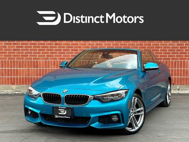 2018 BMW 4 Series 440i xDrive Convertible AWD