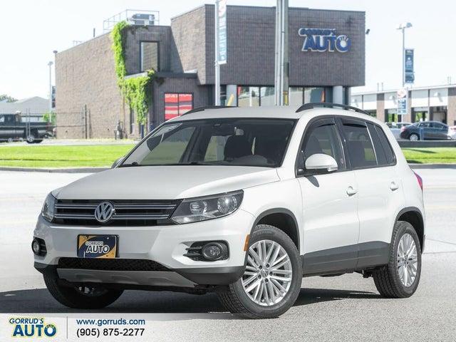 2016 Volkswagen Tiguan AWD Special Edition
