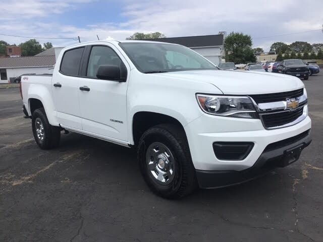 2019 Chevrolet Colorado Work Truck Crew Cab 4WD