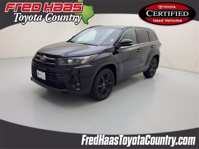 2019 Toyota Highlander SE FWD
