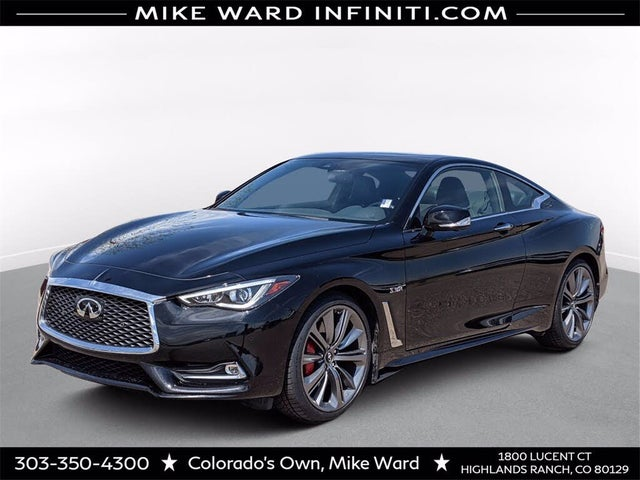 2018 INFINITI Q60 Red Sport 400 Coupe AWD