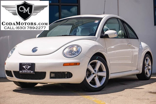 2008 Volkswagen Beetle Triple White