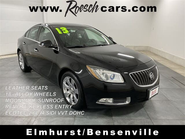 2013 Buick Regal Premium II Turbo Sedan FWD