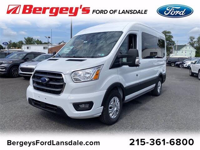 2020 Ford Transit Passenger 150 XLT RWD with Sliding Passenger-Side Door