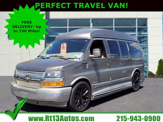 2011 Chevrolet Express Cargo 1500 AWD with Upfitter