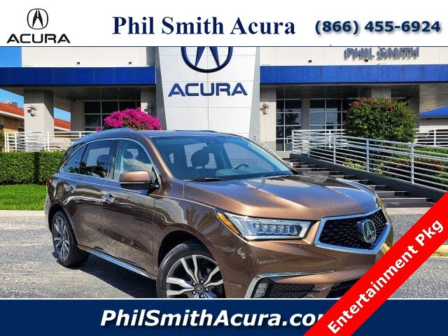 2019 Acura MDX FWD with Advance and Entertainment Package